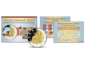 Kursmünzen der Prägestätte München (D) 2021
