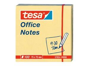 Bild Tesa Office Notes, Haftnotizzettel gelb