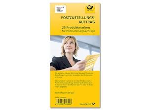 """Bild """"Produktmarke Postzustellungsauftrag 25er-Set"""""""