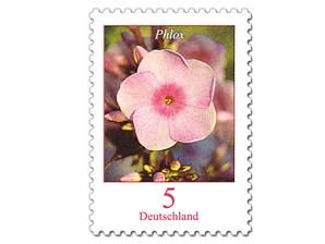 """Bild Briefmarke """"Dauerserie Blumen - Phlox"""", 0,05 EUR"""