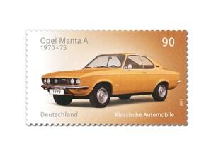 """Bild Briefmarke """"Opel Manta A"""", 0,90 EUR"""