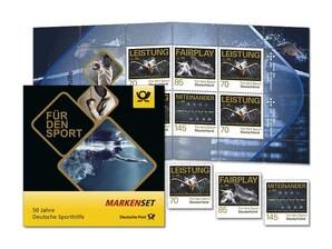 """Bild Markenset, nassklebend, """"Für den Sport"""", 7,25 EUR"""