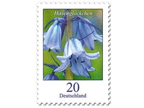 """Bild Briefmarke """"Dauerserie Blumen - Hasenglöckchen"""" 0,20 EUR"""
