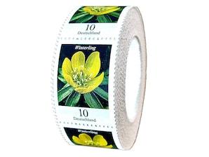 "Bild ""Dauerserie Blumen - Winterling"" 500er-Rolle, 0,10 EUR"
