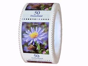 "Bild ""Dauerserie Blumen  - Aster"", 200er-Rolle, 0,50 EUR"