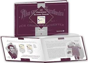 """Booklet """"philacultura - 150. Geburtstag Richard Strauss"""""""