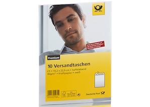 Deutsche Post Versandtasche, Format: DIN C5, ohne Fenster, 10 Stück