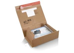 ColomPac Versandkarton für DIN A4, 10 Stück