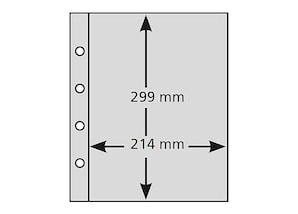 pro collect extra-Hüllen (10er-Set), Typ A4-1S