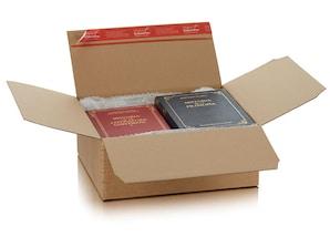 ColomPac Versandverpackung Blitzbodenkarton, 10 Stück