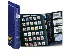 pro collect plus-Album-Set mit Rückenfenster, königsblau