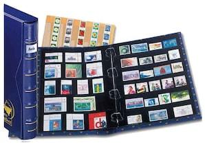 pro collect extra-Album-Set mit Rückenfenster, königsblau