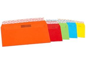 Elco Briefumschläge Color, Format: DIN C5/6, ohne Fenster, 5 x 4 Stück