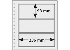pro collect spezial-Hüllen, transparent (10er-Set), Typ 3T-13