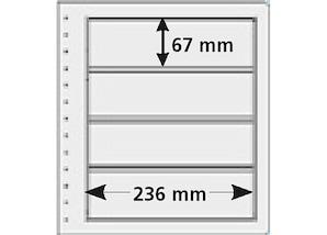 pro collect spezial-Hüllen, transparent (10er-Set), Typ 4T-13