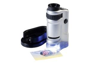 Zoom-Mikroskop (20- bis 40-fache Vergrößerung)