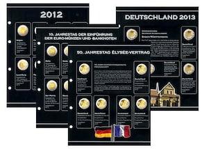 2-Euro Gedenkmünzen Nachtrag 2012