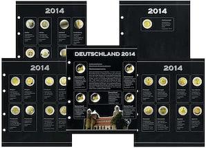 2-Euro Gedenkmünzen Nachtrag, 2014