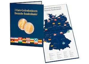 """Münzenalbum PRESSO für alle 2-Euro-Gedenkmünzen """"Deutsche Bundesländer"""""""
