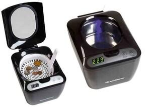 Ultraschallreiniger aus Edelstahl für Münzen