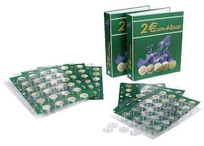 Euro-Sammel-Album, internationale 2-Euro-Münzen, Band 2, Jahrgang 2012 bis 2014