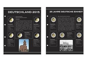 2-Euro Gedenkmünzen Nachtrag, 2015