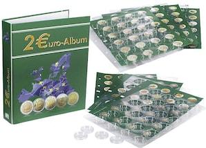 Euro-Sammel-Album für internationale 2-Euro-Münzen, Band 3, Jahrgang 2014 bis 2016