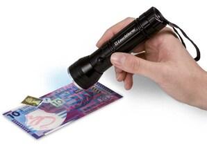 UV-Taschenlampe, Handgerät
