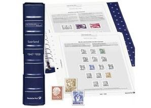 """Deutschland klassik, Vordruckalben,""""Saarland"""", 1947-1959"""