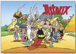 """Erinnerungsblatt """"Die Abenteuer des Asterix"""""""