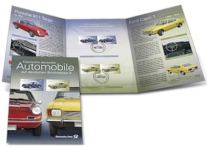 """Erinnerungsblatt """"Klassische Deutsche Automobile II"""""""