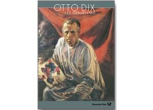 """Erinnerungsblatt """"125. Geburtstag Otto Dix"""""""