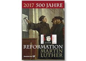 """Erinnerungsblatt """"500 Jahre Reformation"""""""