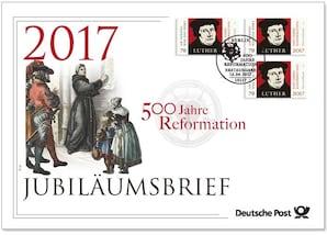 """Jubiläumsbrief """"500 Jahre Reformation"""""""