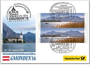 """Messebriefumschlag """"Gmunden"""" 2016"""