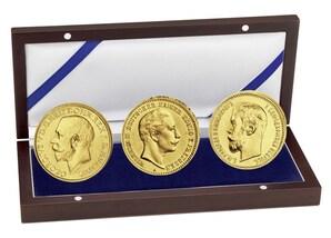 """Gold-Set """"König - Kaiser - Zar"""""""