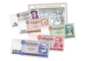 Historische Banknoten der DDR (klein)