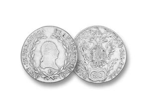 Österreich 20 Kreuzer Franz I. 1809