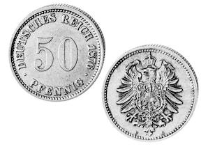 50 Pfennig Deutsches Kaiserreich