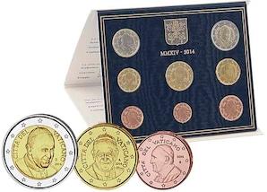 Vatikan Kursmünzensatz 2014