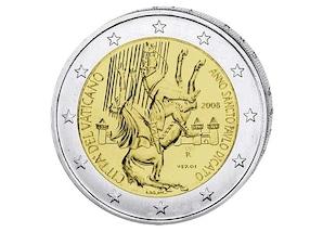 2 EUR-Gedenkmünze Vatikan: Jahr des Apostels Paulus