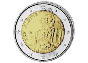 2 EUR-Gedenkmünze San Marino: 200. Geburtstag von Giuseppe Garibaldi