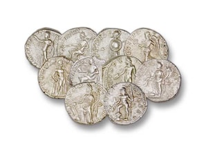 Die Götter Roms - Götter auf römischen Münzen der Kaiserzeit (193-211 n. Chr.)