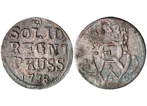 Solidi Friedrich Wilhelm I.  1713-1740