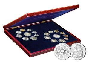 Kursmünzensätze Bundesrepublik und DDR Jahrgang 1989 (Stempelglanz)