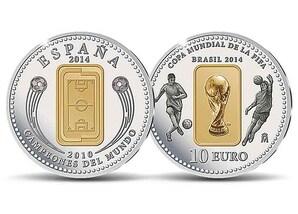 "10-Euro-Silbermünze ""Copa Mundial de la FIFA Brasil 2014"""