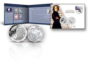 """Numisbrief: """"200. Geburtstag Franz Liszt"""""""