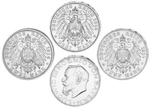 Set Ludwig III., König von Bayern