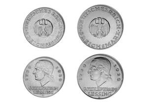 Silbergedenkmünzen Lessing