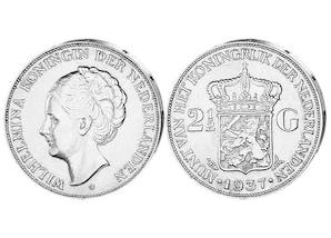 """2,5 Gulden """"Königin Wilhelmina"""""""